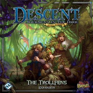 Descent : Journeys in the Dark (Second Edition) - Campaign - The Trollfens Expansion